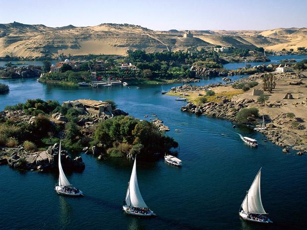 Τα 10 μεγαλύτερα ποτάμια σε μήκος στον κόσμο με φωτογραφίες, ο Νείλος
