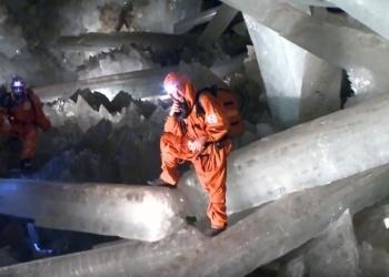 Το σπήλαιο με τους μεγαλύτερους κρυστάλλους στον κόσμο (video)