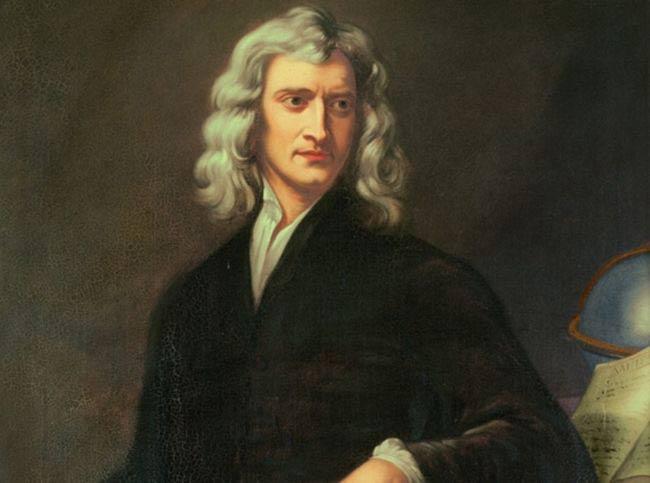 Ο Ισαάκ Νέυτων, γεννημένος στο ζώδιο του Αιγόκερω.