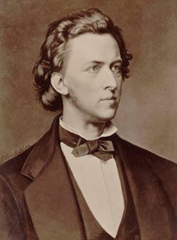 Φρειδερίκος Σοπέν: ο (Ιχθύς) εκπρόσωπος της σχολής του Ρομαντισμού στη Μουσική.