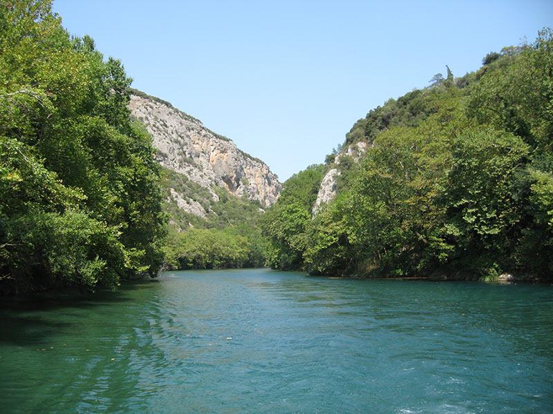 Τα 10 μεγαλύτερα ποτάμια της Ελλάδας με φωτογραφίες, Πηνειός
