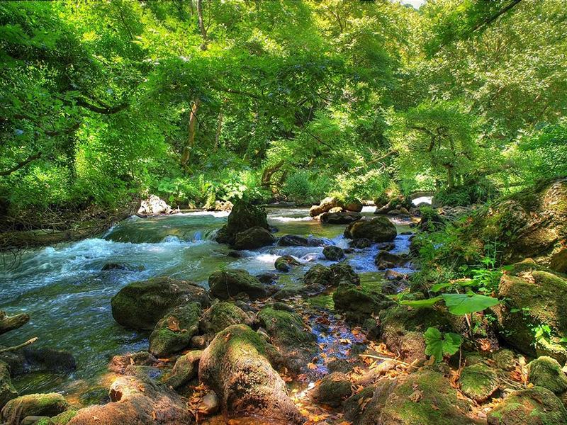 Τα 10 μεγαλύτερα ποτάμια σε μήκος της Ελλάδας με φωτογραφίες, Θυαμίς